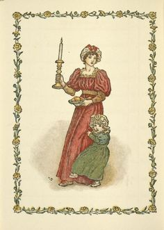 December - Kate Greenaway's Almanack for 1897