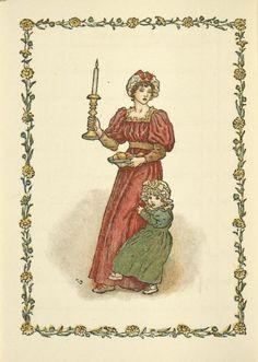 December - Kate Greenaway's Almanack for 1897