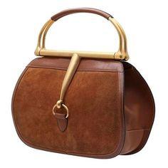 GUCCI VINTAGE HORSEBIT BROWN SUEDE HANDBAG ❤ liked on Polyvore featuring bags, handbags, vintage bag, gucci, gucci purses, brown bag and gucci bags