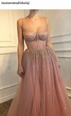 Buy Sexy A-Line Spaghetti Straps Rhinestone Tulle Sweetheart Evening Dresses Pink Formal Dresses online.Shop short long ombre prom, homecoming, bridesmaid evening dresses at Couture Candy Cocktail party dresses, formal ball gowns in ombre colors. Elegant Dresses, Pretty Dresses, Long Gown Elegant, Unique Formal Dresses, Gorgeous Prom Dresses, Grad Dresses, Long Dresses, Dresses Dresses, Dresses Online