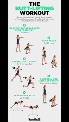 Butt lift Lifting Workouts, Workout For Beginners, Beginner Workouts, Health And Wellness, Health Fitness, Healthy Living, Get In Shape, Fitness Exercises, Weights