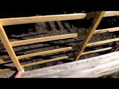 Build A Garden Trellis For Raised Beds