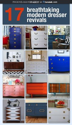 A great way to reflect your personal style with your furniture.