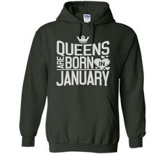 Queens are born in january tshirt cool shirt