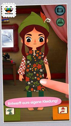 Toca Tailor Fairy Tales (deutsch, GRATIS!) Geeignet für Kinder ab 4 Jahren.