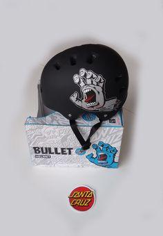 Capacete Skate Bullet Santa Cruz Scream G/gg Importado - R$ 250,00 no MercadoLivre