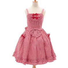 http://www.wunderwelt.jp/products/detail6521.html ☆ ·.. · ° ☆ ·.. · ° ☆ ·.. · ° ☆ ·.. · ° ☆ ·.. · ° ☆ Red gingham dress BABY THE STARS SHINE BRIGHT ☆ ·.. · ° ☆ How to order ↓ ☆ ·.. · ° ☆ http://www.wunderwelt.jp/user_data/shoppingguide-eng ☆ ·.. · ☆ Japanese Vintage Lolita clothing shop Wunderwelt ☆ ·.. · ☆ #egl