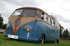 #Rust #Blue #VW