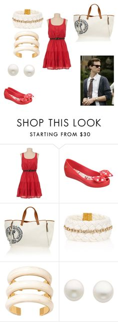 """""""Lily Harison - Chapter 7 (Clothes"""" by emogirl19954 ❤ liked on Polyvore featuring Melissa, Heidi Klein, Juicy Couture, Aurélie Bidermann and Reeds Jewelers"""