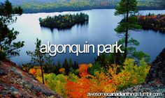 Photo about Scenic view of a lake and islands in Algonquin provincial park Ontario Canada from hill top. Image of cliff, beauty, park - 1353923 Beautiful Vacation Spots, Beautiful Places, Amazing Places, Beautiful Pictures, Ontario Provincial Parks, Ontario Parks, Algonquin Park, Weekend Trips, Dream Vacations