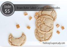 Brown Butter Salted Caramel Snickerdoodles