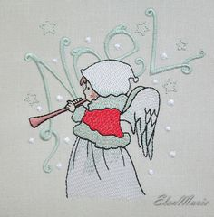 Machine Embroidery Kids Knitting And Crocheting Machine embroidery kids Machine Embroidery Kids Knitting And Crocheting Machine embroidery kids _ mac Freehand Machine Embroidery, Machine Embroidery Projects, Machine Embroidery Applique, Hand Embroidery Stitches, Embroidery Cards, Embroidery Ideas, Crochet Bookmark Pattern, Crochet Bookmarks, Christmas Angels