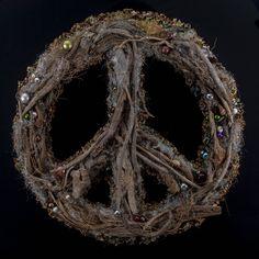 Peace Vol 7 Peace, Wreaths, Halloween, Home Decor, Art, Art Background, Decoration Home, Door Wreaths, Room Decor