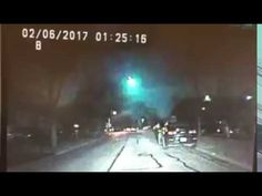 """February 6, 2017 Midwest Fireball Breeches Atmosphere – New 64m-140m NEO has a condition code 9! A bright meteor lit up the skies over the Midwest early Monday, a huge ball of flame visible from at least four states including Illinois, meteorologists said. """"It was visible for a long distance,"""" said Ricky Castro, a meteorologist with the National Weather Service's Chicago office."""