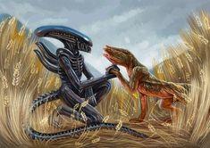 20 Alien Prints Facehugger Xenomorph Sci-Fi Art Print by Lena Samoryadova Alien Creatures, Mythical Creatures, Stranger Things, Alien Covenant, Predator Alien, Alien Concept Art, Aliens Movie, Alien Art, Pics Art
