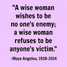7. une #femme sage - 7 citations #édifiante de Maya Angelou pour #femmes... → #Inspiration
