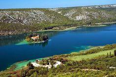 ВСЕ обо Всем!: Островок с монастырем в Хорватии.