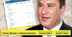 Rafael Moreno Valle asumió el gobierno estatal de Puebla el 1 de febrero de 2011 y este martes concluirá su gestión. A unas horas de dejar su mandato, se sabe que la deuda que le heredará a su sucesor, Antonio Gali Fayad, asciende a 23 mil 97 millones de pesos, de acuerdo con el informe de 2016 publ