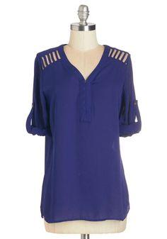 Web Architect Top   Mod Retro Vintage Short Sleeve Shirts   ModCloth.com
