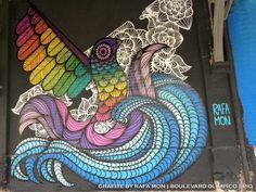 Graffiti by Rafa Mon   Boulevard Olímpico   Rio   ritapinheiro_tour@yahoo.com