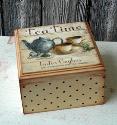 """Panti: Чайная шкатулка """"Tea Time"""""""