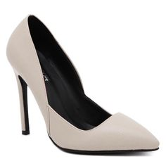 SHARE & Get it FREE | PU Leather Pointed Toe Stiletto Heel PumpsFor Fashion Lovers only:80,000+ Items • New Arrivals Daily • Affordable Casual to Chic for Every Occasion Join Sammydress: Get YOUR $50 NOW!