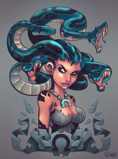 Medusa by *frogbillgo  This guy blows me away