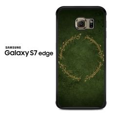 elvish script lordoftherings Samsung Galaxy S7 Edge Case