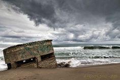 Inverno nella spiaggia del Poetto di Cagliari