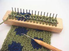 Tadpole Knitting Board by UrbanHomesteaders on Etsy, $21.50