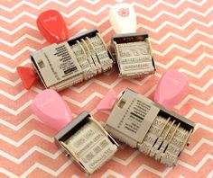 Back by popular demand. . .  Today's Peachy Cheap deal is a 4 pack of Elizabeth Kartchner and Amy Tangerine Roller Stamps from American Crafts.  All 4 stamps for ONLY $9.99 at www.peachycheap.com!