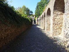 The walls of Münstereifel, region Cologne