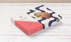 In China, steak is considered to be an incredibly special meal that is   especially good for children. After doing some market research,Tom Jueris  discovered that most people buying steak in the country were mothers   purchasing it for their kids, so with that in mind, he redesigned the logo   an