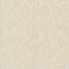 "Brewster Home Fashions Sparkle Sumatra 33' x 20.5"" Damask 3D Embossed Wallpaper Color: Gold"