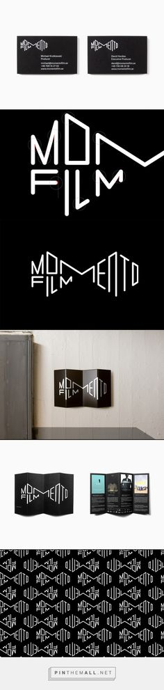 New Logo for Momento Film by Bedow                                                                                                                                                                                 More
