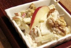 Waldorf saláta vegadiától Waffles, Tacos, Mexican, Meat, Chicken, Breakfast, Ethnic Recipes, Food, Meal