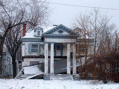 Abandoned Mansion on Euclid Avenue: East Cleveland, Ohio