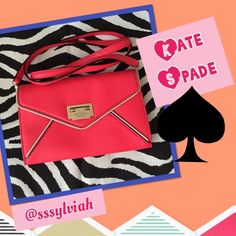KS Natalie Crossbody I have 2 of these! In hot pink, rare and hard to find!!! A great deal. Can be used as a clutch or shoulder/crossbody bag. Carry strap is removable but not adjustable. Like a wallet inside but can definitely fit iPhone 6.  Includes dustbag.   ESSENTIAL STYLES HP x2! kate spade Bags Crossbody Bags