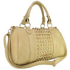 Sasha Stud Handbag