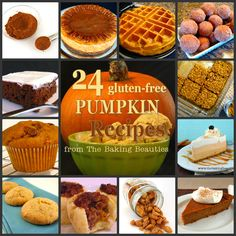 24 Gluten Free Pumpkin Recipes from The Baking Beauties - The Baking Beauties