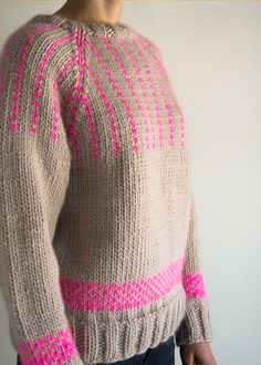 Ravelry: Friendly Fair Isle Sweater pattern by Purl Soho inspiration p. Ravelry: Friendly Fair Isle Sweater pattern by Purl Soho inspiration purl soho Friendly F Purl Bee, Tejido Fair Isle, Fair Isle Knitting Patterns, Fair Isles, Purl Soho, Quick Knits, How To Purl Knit, Knit Purl, Pulls