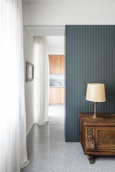 Appartamento a Verona - studio wok Verona, Elle Decor, Wok, Nightstand, Villa, Curtains, Interior Design, Studio, Apartments