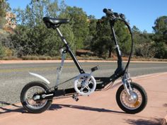 Here is Part 1 of the VeloMini 3 Speed review with a bunch of pictures and the specs. The VeloMini 3 speed electric bike is a highly portable electric bike that can fold to a compact size and it weighs a mere 36 lbs. http://electricbikereport.com/velomini-iii-folding-electric-bike-pictures-specs/