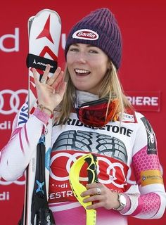 VAL D'ISERE, France (AP) -- Lara Gut is not spending any time thinking about Mikaela Shiffrin, even though the American slalom specialist is a serious threat to Gut's overall World Cup title.  Last weekend, Shiffrin won the 11th consecutive World Cup race that she has entered in that discipline