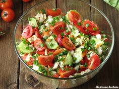 Food Decoration, Healthy Salad Recipes, Tortellini, Us Foods, Caprese Salad, Food And Drink, Healthy Eating, Cooking Recipes, Yummy Food