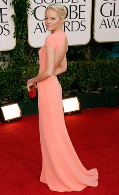 Emma Stone - 2011 Golden Globes