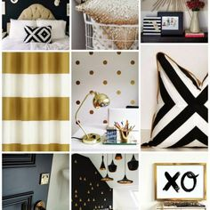 Bedroom Ideas Black And Gold style guide: black and gold bedroom ideas | gold bedroom, bedrooms