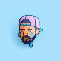 Drake Enamel Pin by BiancaBeers on Etsy