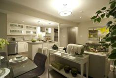 Bright and Modern Basement  Image