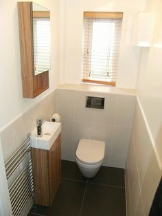 bathrooms by complete-concept plumbing tiling complete kitchen or bathroom work Small Downstairs Toilet, Small Toilet Room, Downstairs Bathroom, Laundry In Bathroom, Bathroom Renos, Bathroom Layout, Small Bathroom, White Bathroom, Understairs Toilet